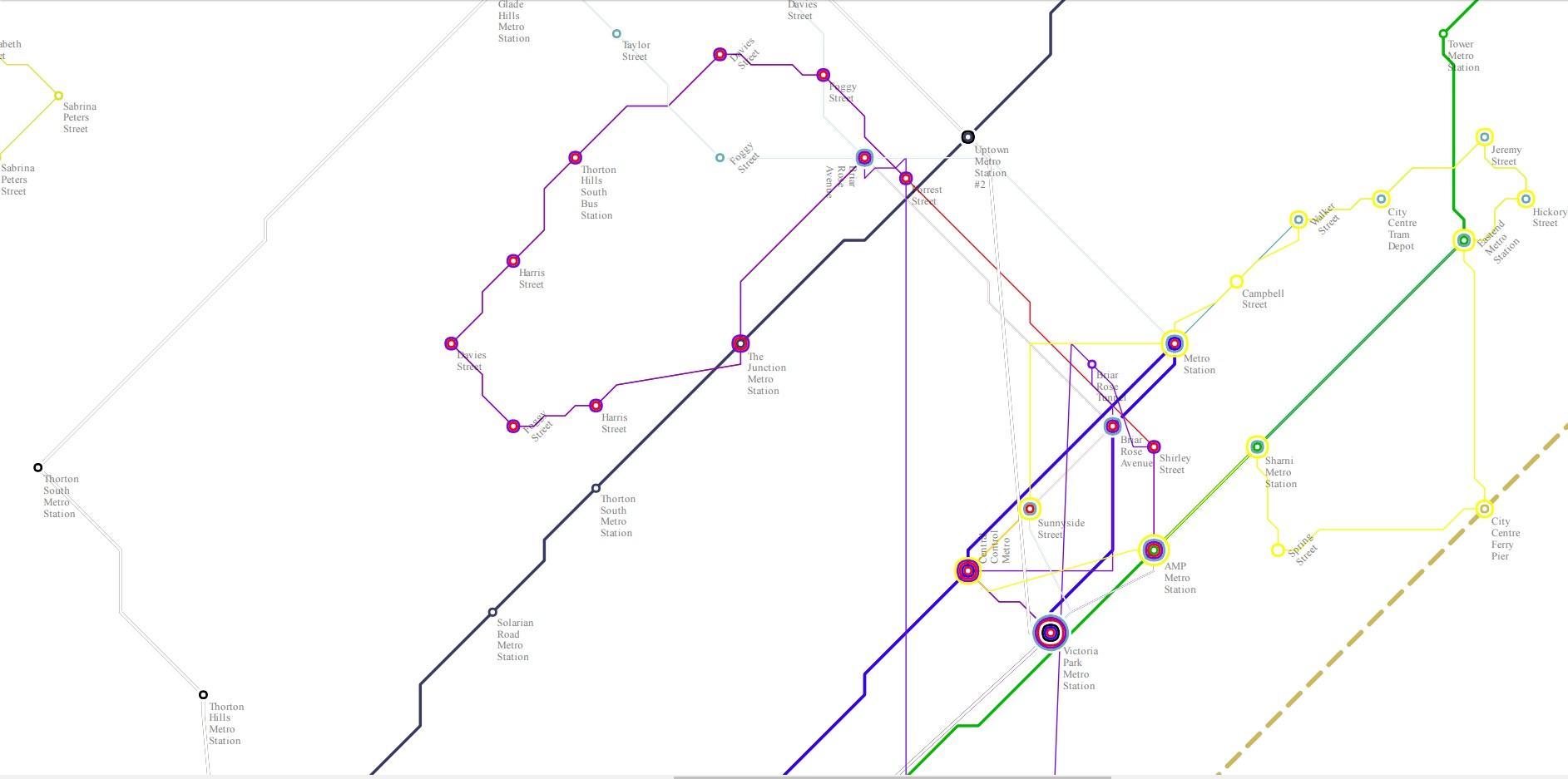 San Solaria Transit Map 1