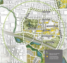 Transform Manukau Framework Plan Source: Panuku Development Auckland