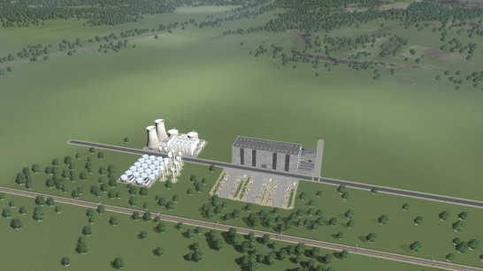 Nuclear power stations being built to supply power
