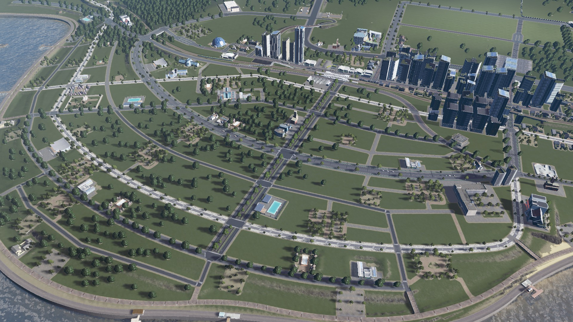 #CitiesSkylines New Expansion Out Next Month: PARKS – Lots and Lots of PARKS