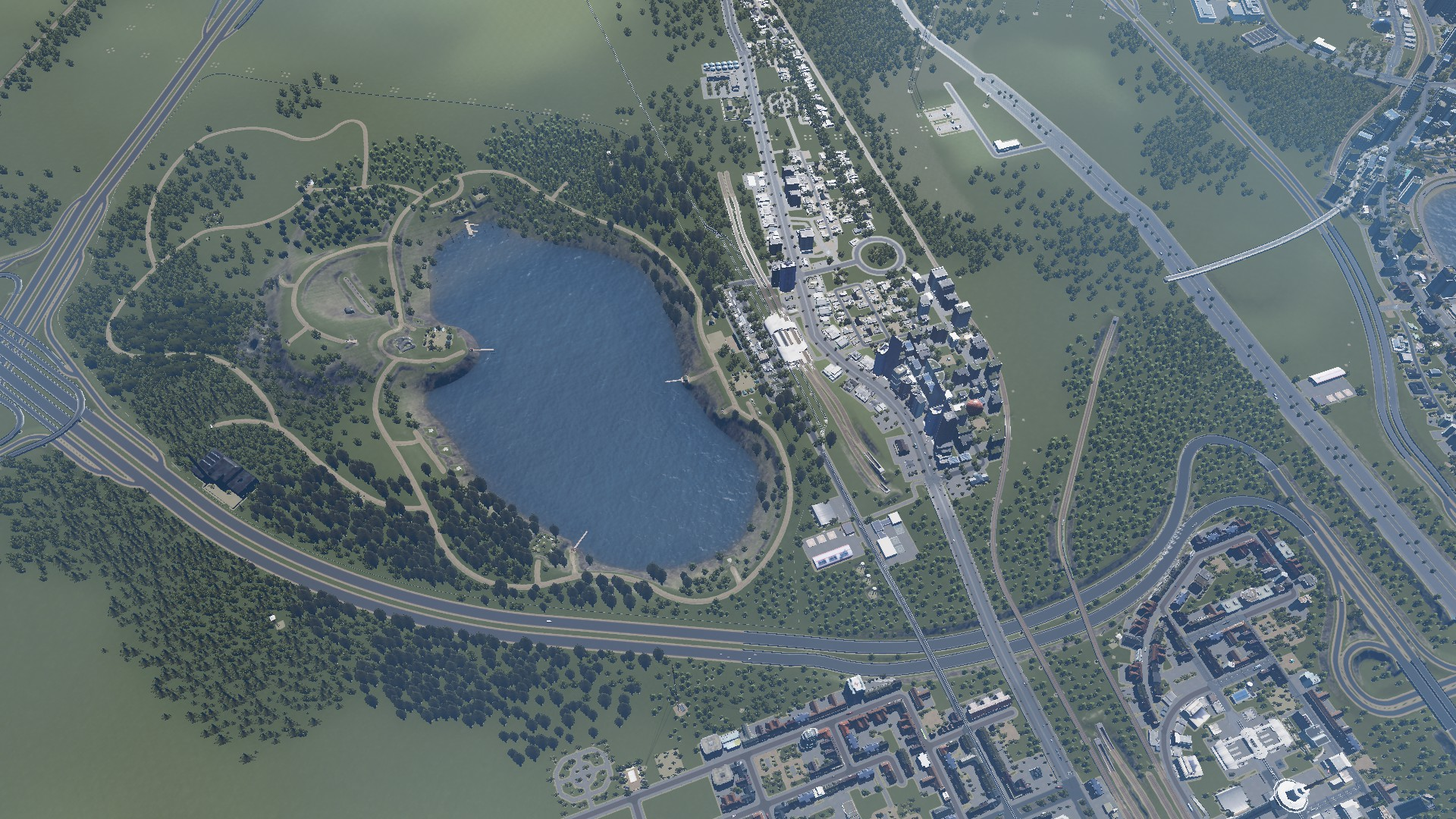 Walking Through the Urban Forest – #CitiesSkylines Goes Back to Nature