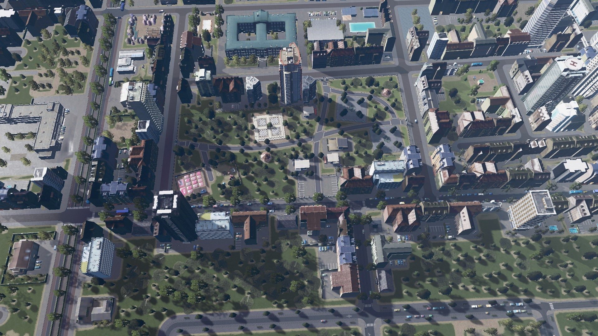 Urban Design in #CitiesSkylines? Always! Urban Design and Transport (Integrated Planning) Evolving? I Hope So