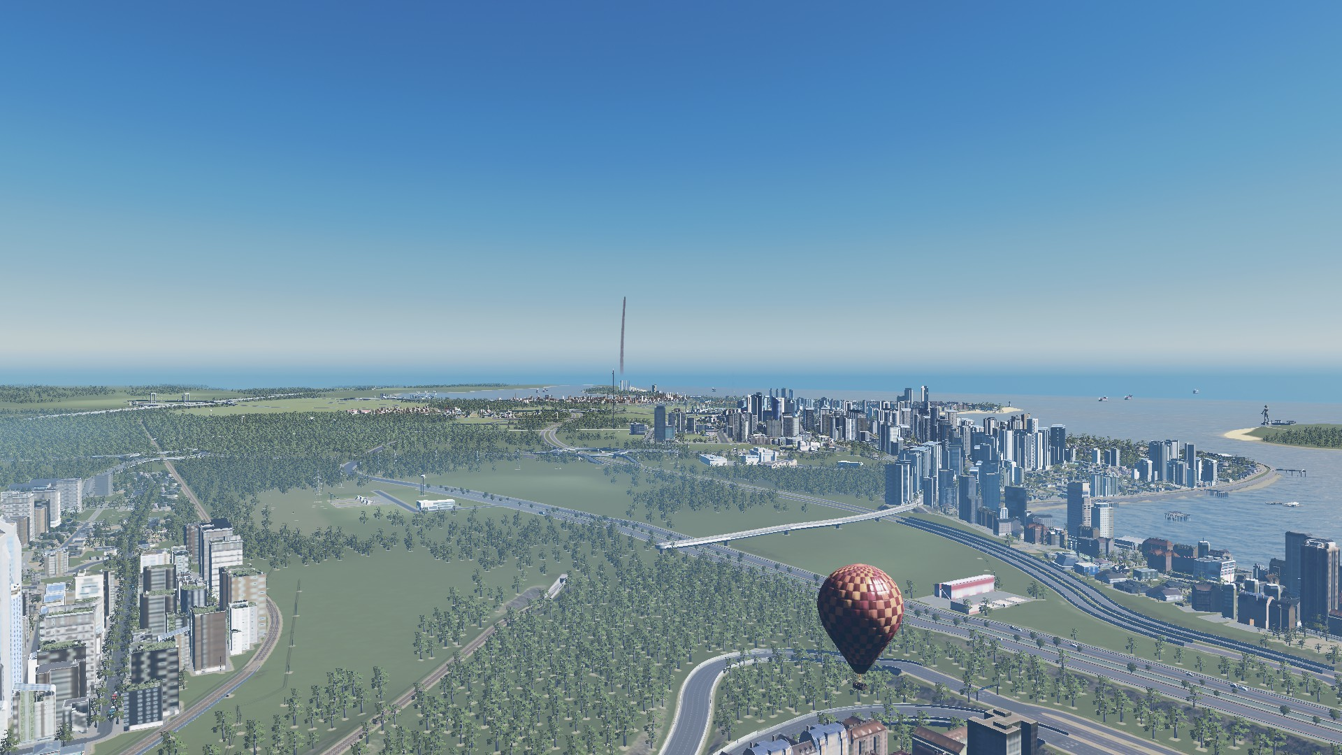 5, 4, 3, 2, 1 – LIFT OFF (in #CitiesSkylines )