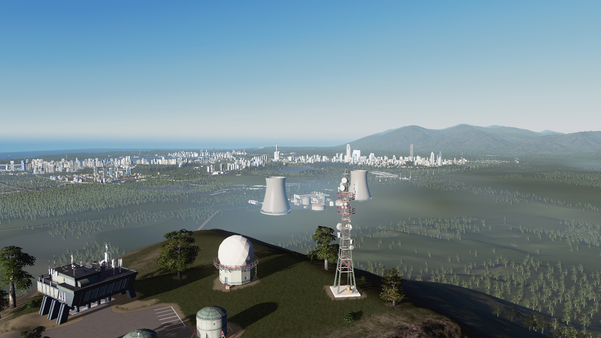 Some Random Happenings in #CitiesSkylines oh and CRUISE SHIPS