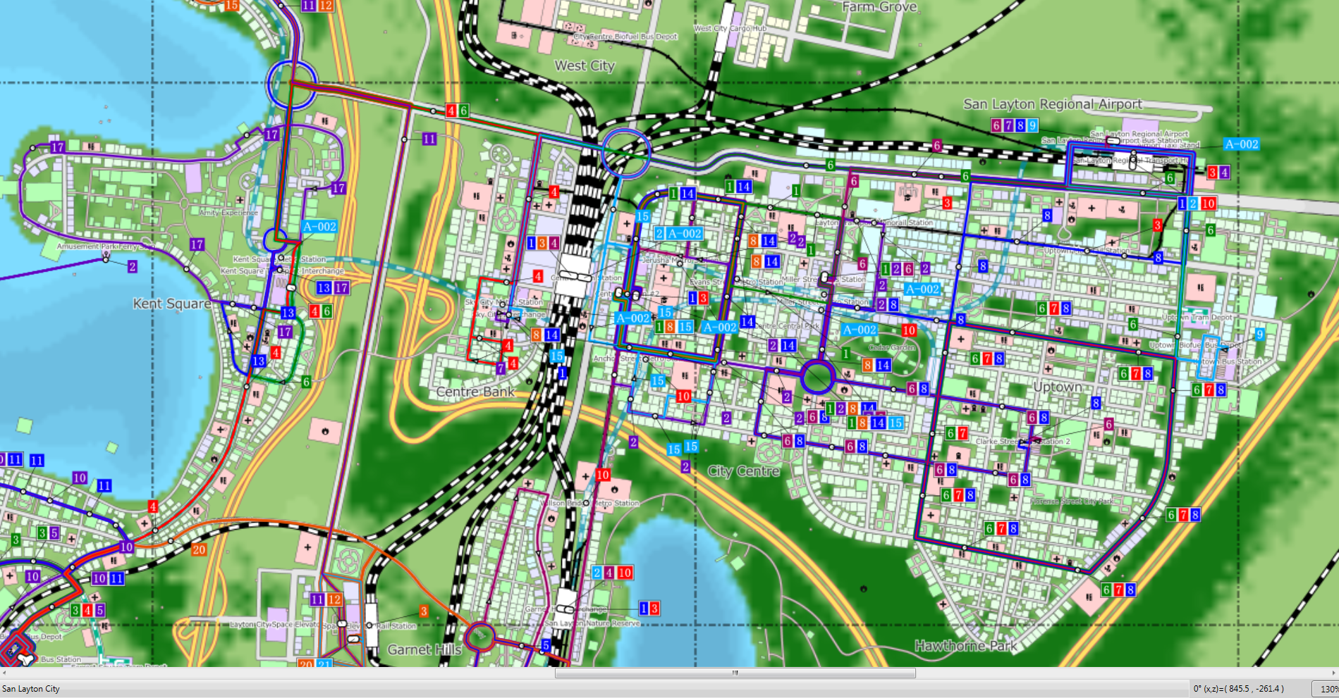 #CitiesSkylines in Maps and 3D Printing? Urban Geography Communication Devices