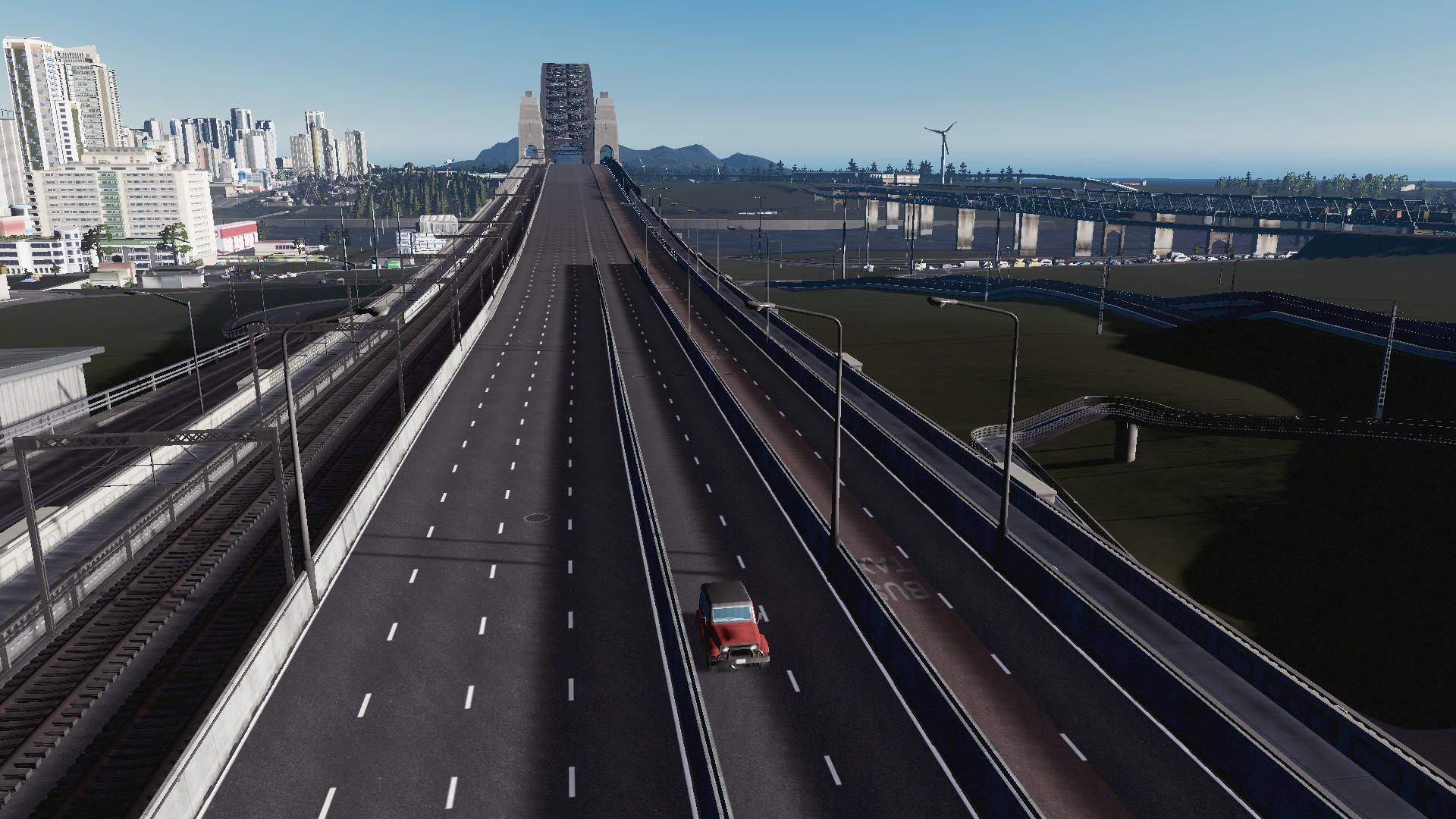BadPeanut Gives #CitiesSkylines the Sydney Harbour Bridge. I Oblige and Build the Manukau River Bridge