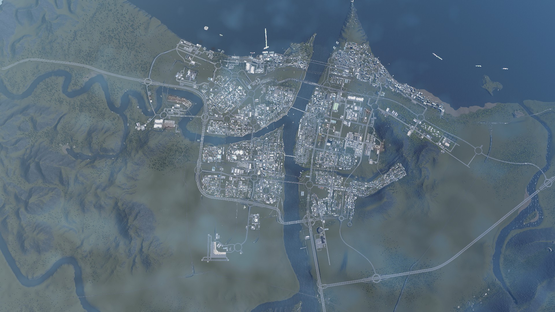 Manukau Continues to Grow, Using the Toolkit to Make the City Function #CitiesSkylines