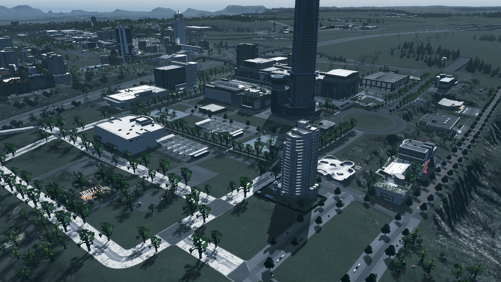 #CitiesSkylines City Building. The Subway is Fixed in Grand Manukau/Layton Cities