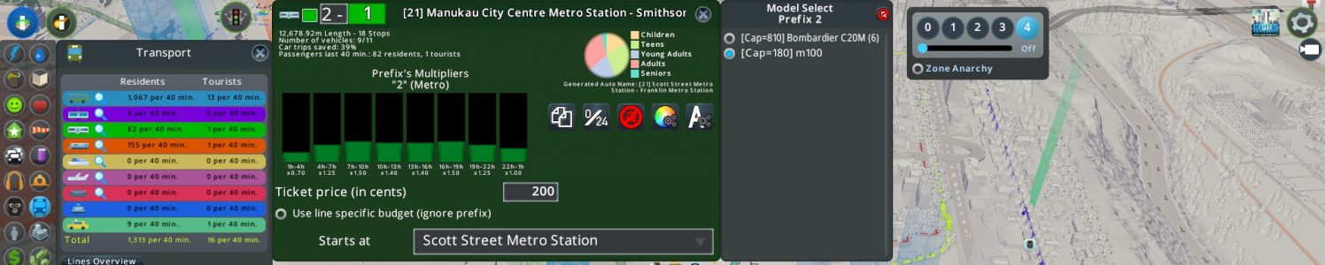 Expanding the City while Riding the Metro. #CitiesSkylines