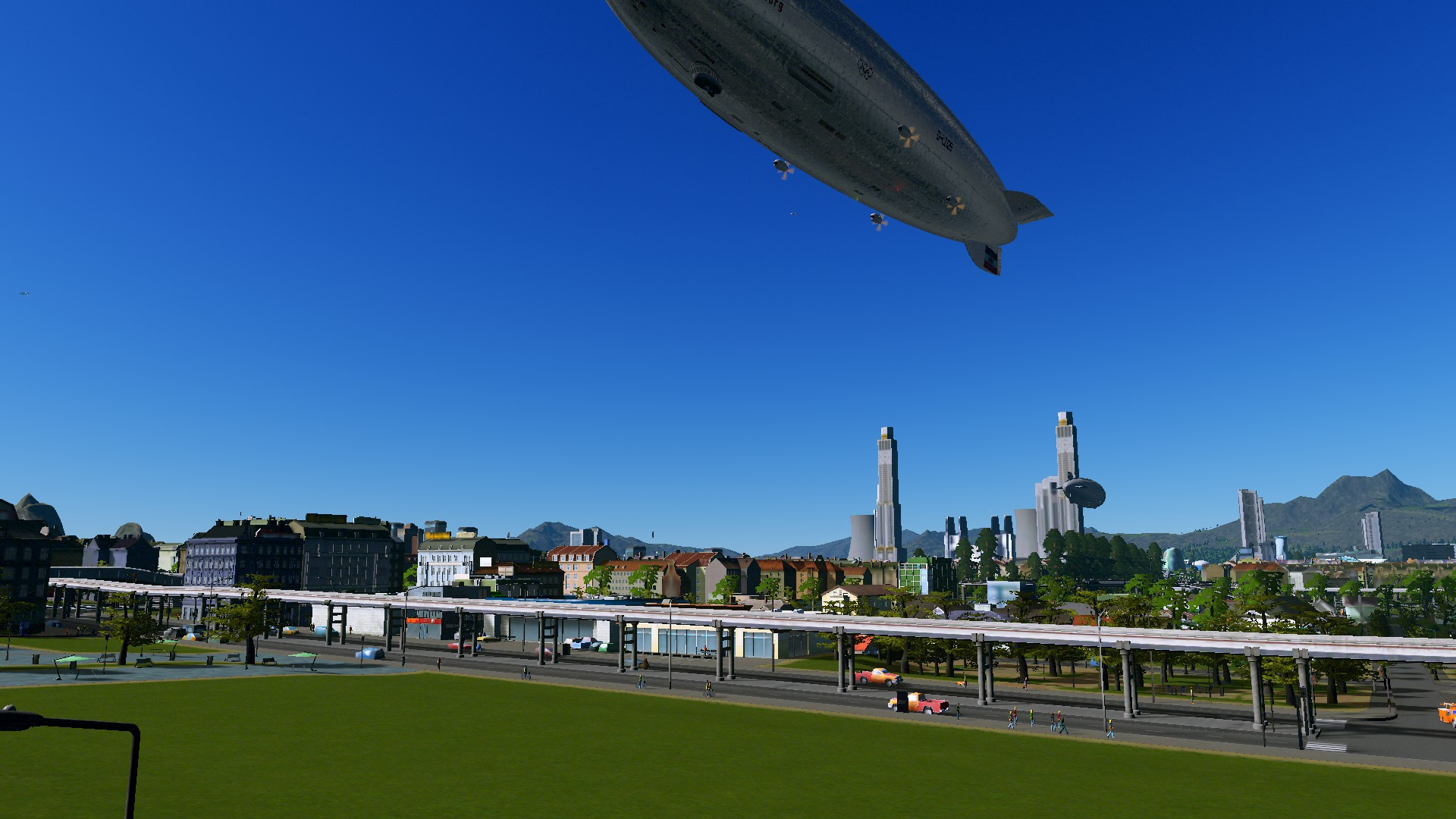 One Metro + One Micro District = Another Day in #CitiesSkylines (Grand City of Solaria)