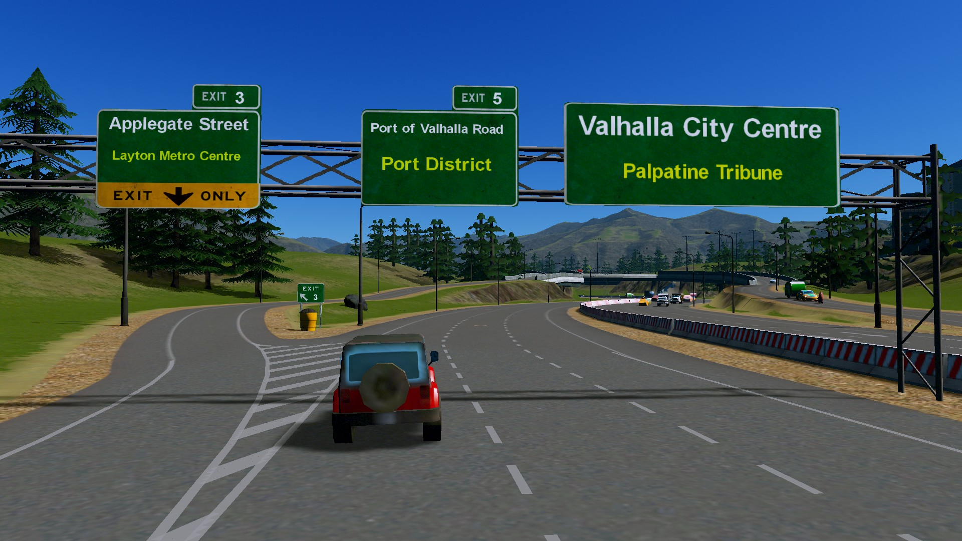 #citiesskylines Valhalla City Fly-Through. September 2020