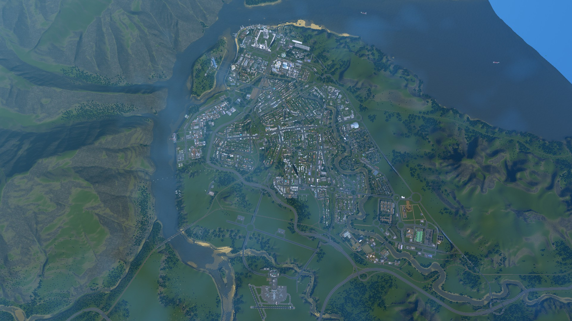Traffic Crisis and Housing Crisis – Just an Average Day in Valhalla City #CitiesSkylines