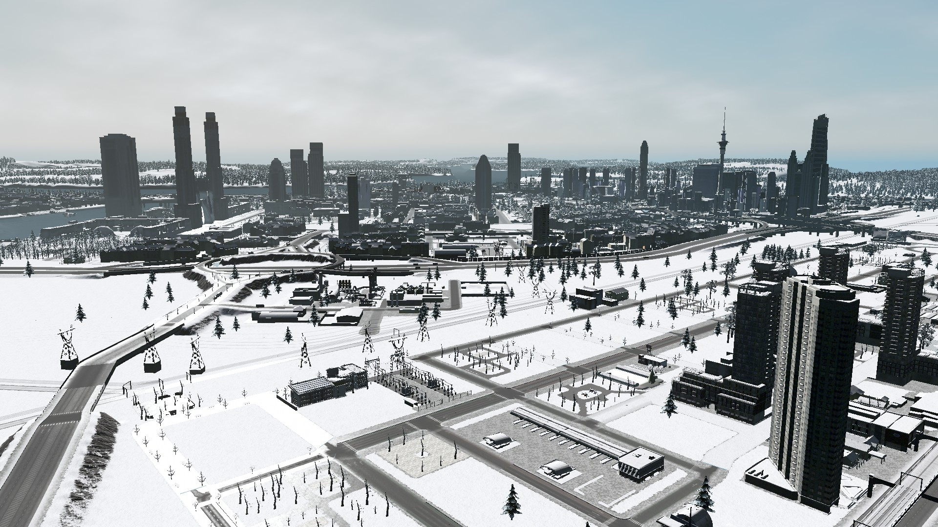 From a Cims Point of View: We Go First Person Mode in Antarctica City #CitiesSkylines