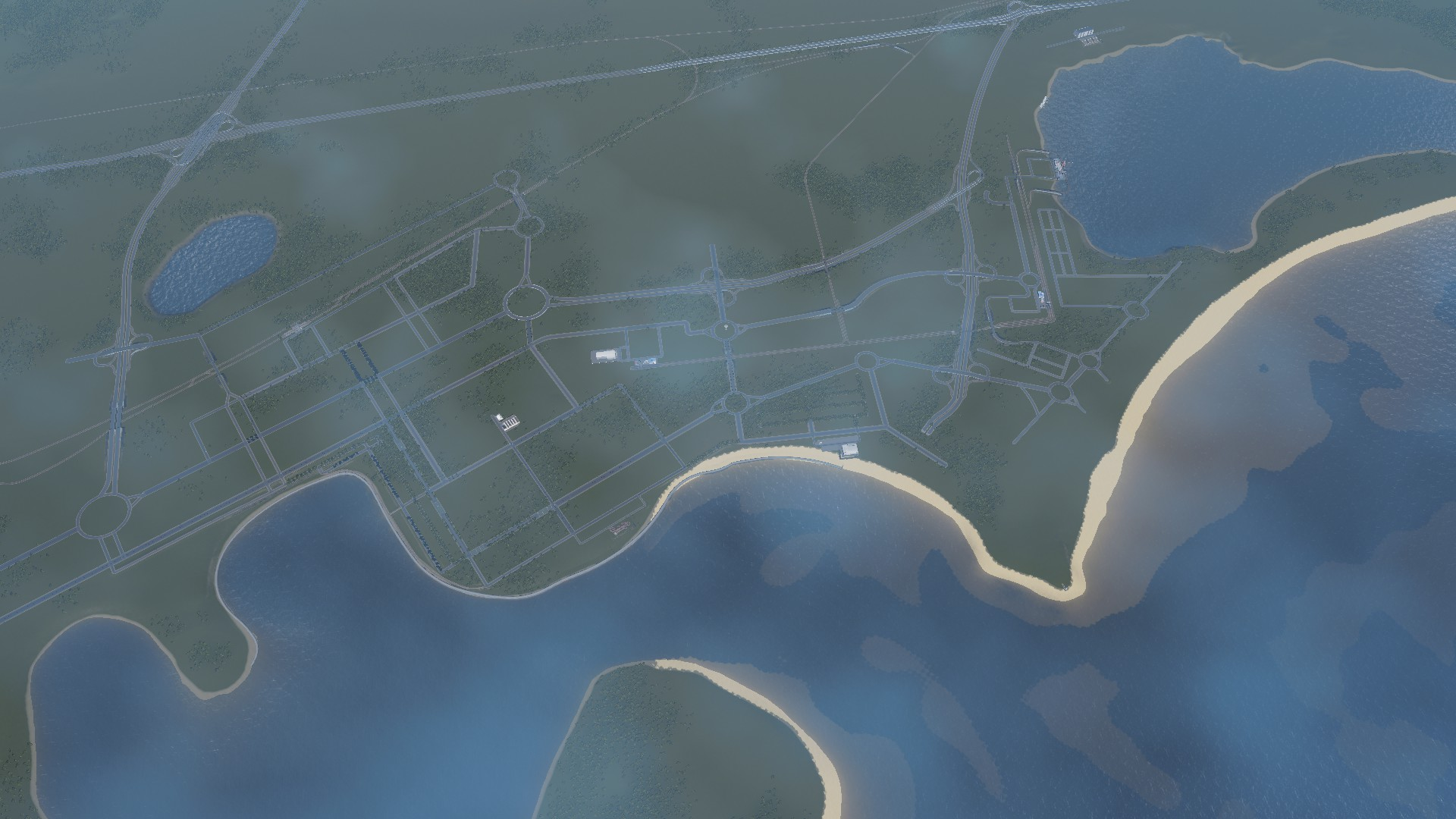 Day 2 Recreating South Auckland (Mixed Reality) in #CitiesSkylines​ (all about the Infrastructure)